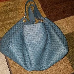 Deux Lux Tribeca Woven Large Hobo Bag